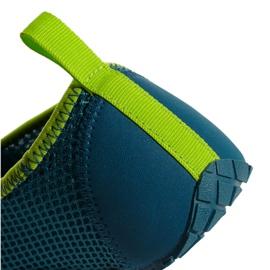 Buty do wody adidas Kurobe K Jr CM7644 zielone niebieskie 8