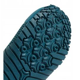 Buty do wody adidas Kurobe K Jr CM7644 zielone niebieskie 10