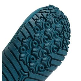 Buty do wody adidas Kurobe K Jr CM7644 zielone niebieskie 11