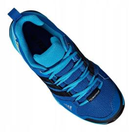 Buty adidas Terrex AX2R Mid Cp Jr BC0673 niebieskie wielokolorowe 1
