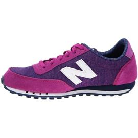 Buty New Balance W WL410OPB fioletowe różowe 1