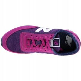 Buty New Balance W WL410OPB fioletowe różowe 2