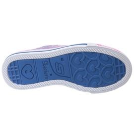 Buty Skechers Step Up Jr 10704L-BLNP wielokolorowe 3