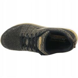 Buty Skechers Flex Appeal 2.0 W 12771-BKGD czarne wielokolorowe 2