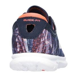 Buty Skechers Go Step W 14200-NVCL granatowe wielokolorowe 1