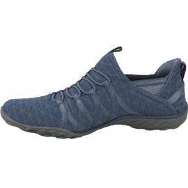 Buty Skechers Breathe Easy W 23048-SLT niebieskie 1