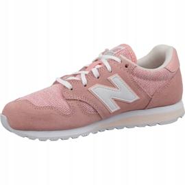 Buty New Balance W WL520TLC różowe 1