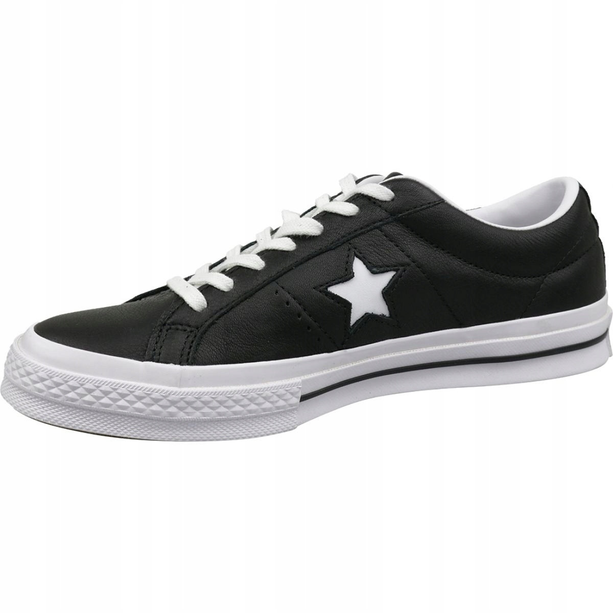Buty Converse One Star Ox 163385C czarne