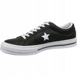Buty Converse One Star Ox 163385C czarne 1