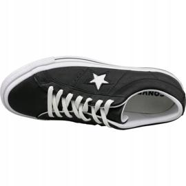 Buty Converse One Star Ox 163385C czarne 2