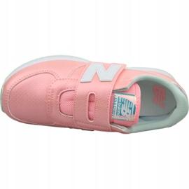 Buty New Balance Jr PV220M1 różowe 2