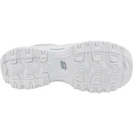 Buty Skechers D'Lites M 13160-WSL białe 3