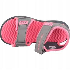 Sandały New Balance Jr K2004PKG szare różowe 2