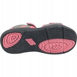 Sandały New Balance Jr K2004PKG szare różowe 3