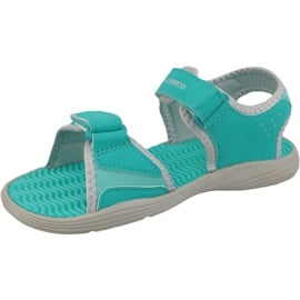 Sandały New Balance Jr K2004GRG niebieskie zielone 1