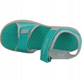 Sandały New Balance Jr K2004GRG niebieskie zielone 2