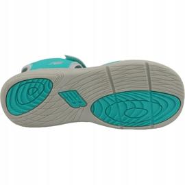 Sandały New Balance Jr K2004GRG niebieskie zielone 3