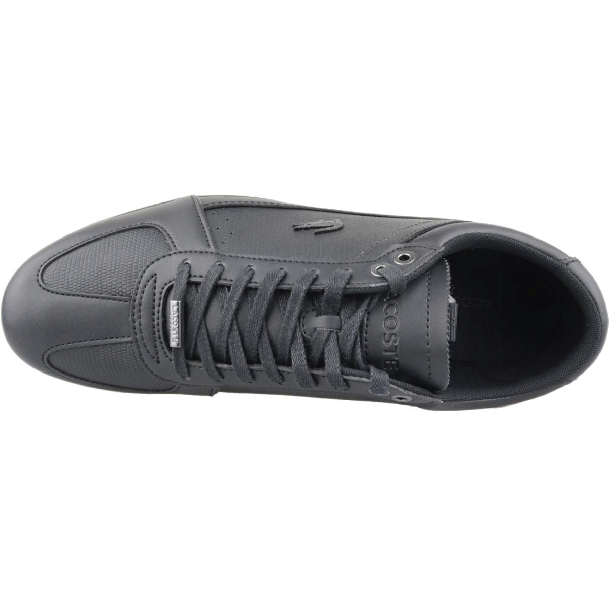 zamówienie sprawdzić klasyczny Buty Lacoste Evara 119 1 M 737CMA003102H czarne