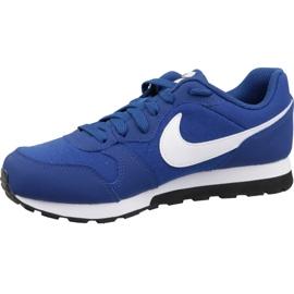 Buty Nike Md Runner 2 Gs Jr 807316-411 niebieskie 1