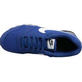 Buty Nike Md Runner 2 Gs Jr 807316-411 niebieskie 2