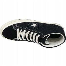 Buty Converse One Star Ox Mid Vintage Suede M 157701C czarne 2