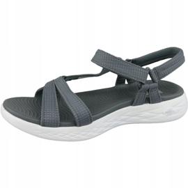 Sandały Skechers On The Go 600 15316-CHAR szare 1