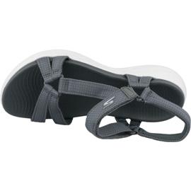 Sandały Skechers On The Go 600 15316-CHAR szare 2