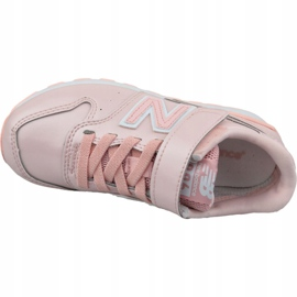 Buty New Balance Jr YV996GB różowe 2