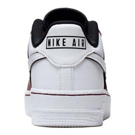 Buty Nike Air Force 1 LV8 2 Jr CI1756-600 białe czerwone 3