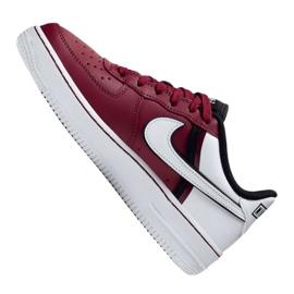 Buty Nike Air Force 1 LV8 2 Jr CI1756-600 białe czerwone 4
