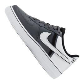 Buty Nike Air Force 1 LV8 2 Jr CI1756-002 białe czarne 3