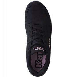 Buty treningowe Kappa Follow W 242495 Nc 1121 czarne różowe 1