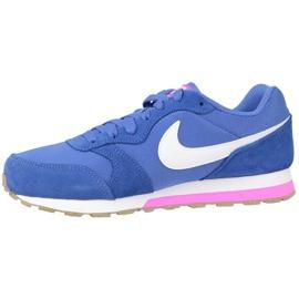 Buty Nike Md Runner 2 Gs W 807319-404 niebieskie 1