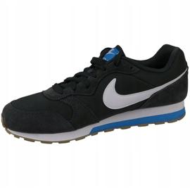 Buty Nike Md Runner Gs W 807316-007 czarne 1