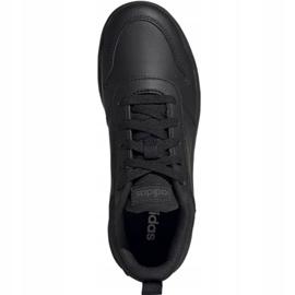 Buty adidas Tensaur Jr EF1086 czarne 1