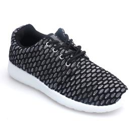 Sportowe Adidasy Do Biegania Roshe KA537 Czarny czarne 1