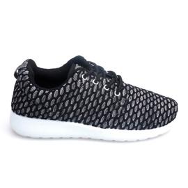 Sportowe Adidasy Do Biegania Roshe KA537 Czarny czarne 2