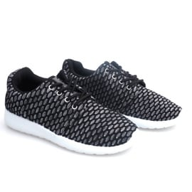 Sportowe Adidasy Do Biegania Roshe KA537 Czarny czarne 3