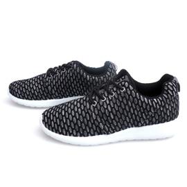 Sportowe Adidasy Do Biegania Roshe KA537 Czarny czarne 5
