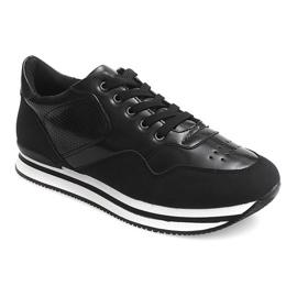 Sneakersy JT1 Czarny czarne 1