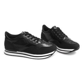 Sneakersy JT1 Czarny czarne 2