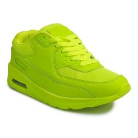 Buty Sneakersy K01 Zielony zielone 1