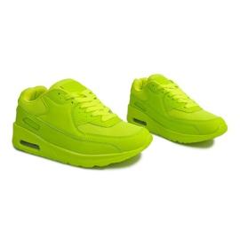 Buty Sneakersy K01 Zielony zielone 2