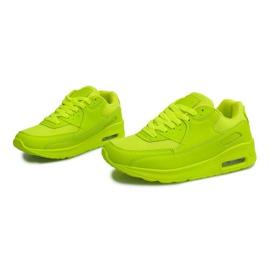 Buty Sneakersy K01 Zielony zielone 3