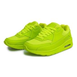 Buty Sneakersy K01 Zielony zielone 4