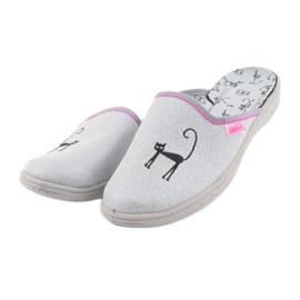Befado obuwie dziecięce     707Y398 szare 4