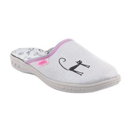 Befado obuwie dziecięce     707Y398 szare 2