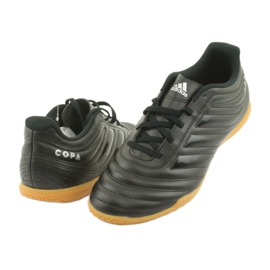 Buty halowe adidas Copa 19.4 In M F35485 czarne 4