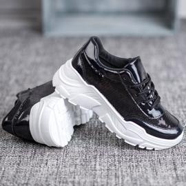Marquiz Buty Sportowe Z Cekinami czarne 3