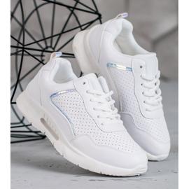SHELOVET Białe Buty Sportowe 1